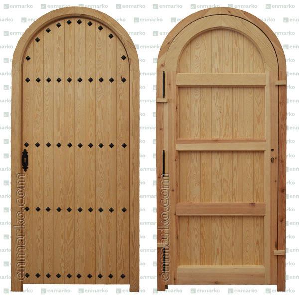 Puertas de medio punto de madera materiales de - Maderas para arcos ...