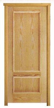 Puerta 2 cuadros pino tienda online de enmarko - Puertas macizas interior ...