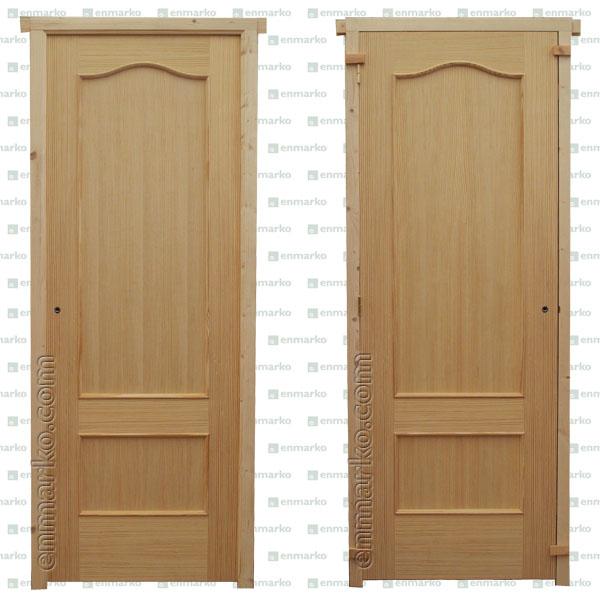Puerta provenzal pino tienda online de enmarko - Precio puerta blindada instalada ...